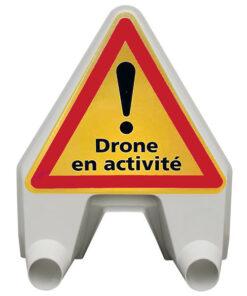 Panneau Mistral Drone en activité