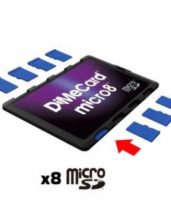Porte-carte 8 cartes micro-SD